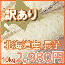 【訳あり】北海道産長芋(約10kg)※現在の価格は4280円です