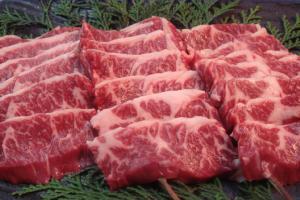 北海道産限定厳選国産牛ハラミ・サガリ300g和牛ではないですが国産ハラミ・サガリ・はらみ・さがり華咲カットなどしなくても柔らかい!【gw_m_hb】【gw_m_re】