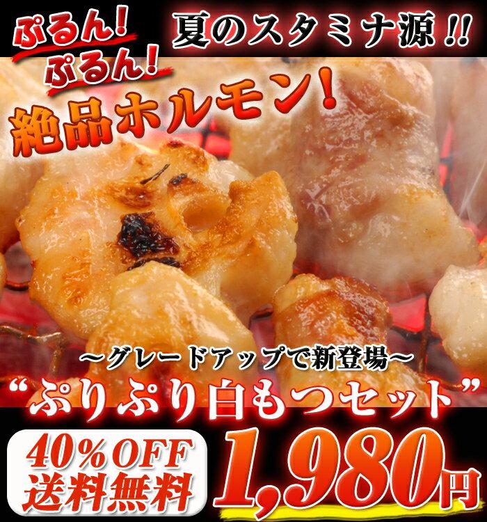 【送料無料】北海道産ぷりっぷりホルモン焼セット!ぷりぷり丸腸入り!1セット