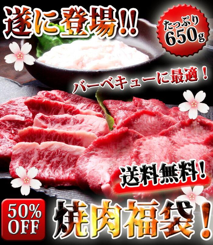 【送料無料】焼肉バーベキューセット650g!