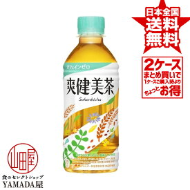 【2ケースセット】 爽健美茶 PET 300ml 48本(24本×2箱) お茶 ペットボトル 日本コカ・コーラ