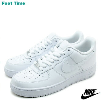 Nike air force one low 07 NIKE AIR FORCE 1 LOW 07 black / white WHITE/WHITE 315122-111 mens sneakers