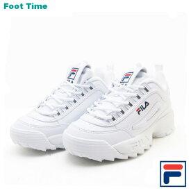 フィラ ディスラプター2 FILA DISRUPTER2 レディース メンズ スニーカーホワイト WHITE FS1HTA1071X
