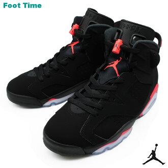 "Nike Air Jordan 6 nostalgic ""infrastructure red"" NIKE AIR JORDAN 6 RETRO ""INFRARED"" men sneakers black / infrastructure red BLACK/INFRARED 384,664-060"