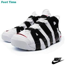 NIKE AIR MORE UPTEMPO ナイキ エア モア アップテンポ WHITE/BLACK-UNIVERSITY RED ホワイトブラック-ユニヴァーシティレッド 414962-105 靴 メンズ靴 スニーカー