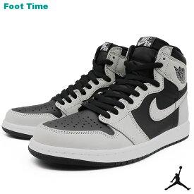 ナイキ エア ジョーダン 1 レトロ ハイ OG NIKE AIR JORDAN 1 RETRO HIGH OG ブラック/ライトスモークグレー-ホワイト BLACK/LT SMOKE GREY-WHITE 555088-035 靴 メンズ靴 スニーカー