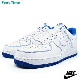 ナイキ エア フォース ワン '07 NIKE AIR FORCE 1 '07 ホワイトホワイト-ゲームロイヤル WHITE/WHITE-GAME ROYAL CV1724-101 靴 メンズ靴 スニーカー