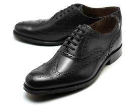 グレンソン ディラン ウィングチップ ブラック カーフレザー メンズ シューズ 靴 GRENSON DYLAN 110013 BLACK CALF LEATHER