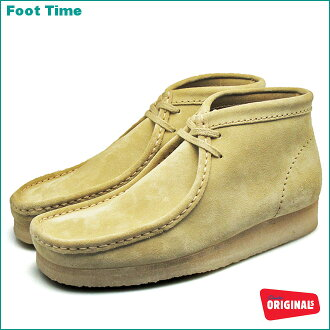 In the promise of CLARKS WALLABEE BOOT #35405 SAND SUEDE product arrival report view