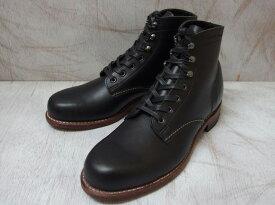 ウルヴァリン 1000マイルブーツ ブラック ホーウィンクロムエクセル メンズ ブーツ WOLVERINE W05300 1000 MILE BOOT MADE IN USA