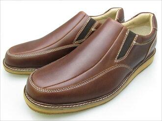 圣塔芭芭拉马球网球俱乐部皮革休闲鞋男式鞋暗棕色 93031 fs09gm