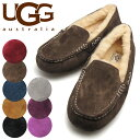 アグ アンスレー モカシン シープスキン UGG ANSLEY 3312【8 COLORS】 BLACK CHESTNUT CHOCO LGRY MAHOGAN...