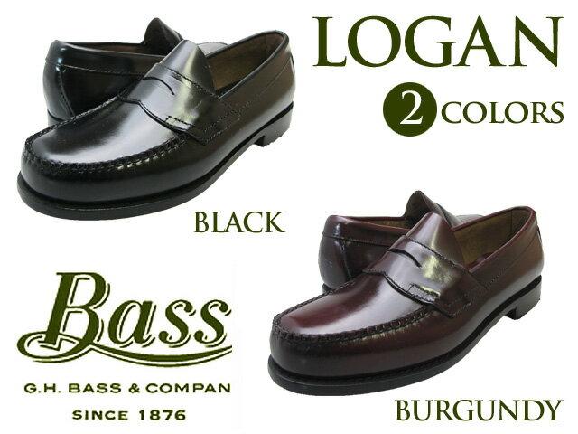【バス ローガン】 G.H BASS LOGAN BLACK BURGUNDY WINEfs04gm