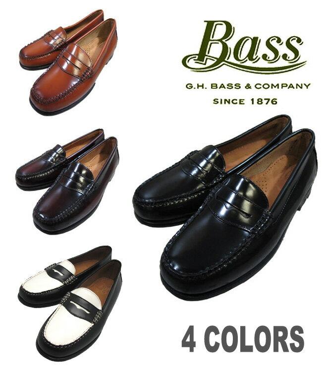 【バス ホイットニー ウェイファーラー】【LADY`Sサイズ】G.H.BASS WHITNEY WAYFARERレディースモデル BLACK BURGUNDY BROWN