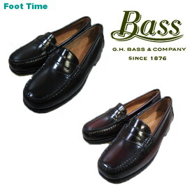 G.H.BASS WAYFARER バス ウェイファーラー ローファー 【Lady'sサイズ】BLACK BURGUNDY ブラック バーガンディー