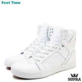 スープラ スカイトップ クラシックス SUPRA SKYTOP CLASSICS ホワイト/ホワイト/レッド WHITE/WHITE/RED 08003-149 S18275 メンズ レディース スケート スニーカー