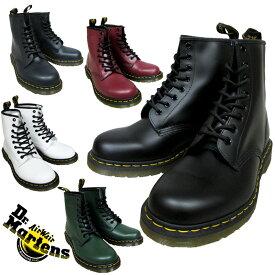 ドクターマーチン 8ホールブーツ 5カラー Dr.MARTENS 1460 8EYE BOOT 5color BLACK/CHERRYRED/WHITE/GREEN/NAVY 11822006/2600/2100/2207/10072410 メンズ ユニセックス ブーツ
