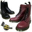 ドクターマーチン 10ホールブーツ 2カラー Dr.MARTENS 1490 10EYE BOOT 2color BLACK/CHERRYRED 1185700...