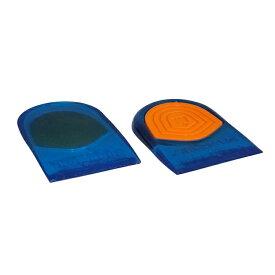 かかと ヒール インソール 靴の中敷き ジェル クッション 反発 アーチのくずれを防止 疲労軽減 足底腱膜炎対応 ウォーキング・トレーニング・テニス・スケートボードシューズ対応 アイアンマン IRONMAN パワージェル ヒール クッション