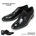 【ポイント10倍】キャサリンハムネット KATHARINE HAMNETT 3969 靴 紳士靴 メンズビジネスシューズ 外羽根 ストレート…