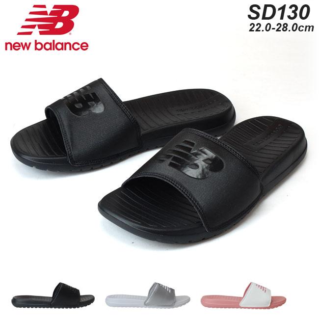 NewBalance ニューバランス サンダル SD130 ユニセックス メンズ レディースサンダル ブラック SB シルバー SV ピンク WP スポーツサンダル スライドサンダル (1806)