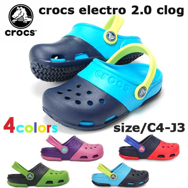 クロックス キッズ CROCS エレクトロ 2.0 クロッグ ELECTRO 2.0 CLOG 15608 サンダル 国内正規品【一部取り寄せ品】