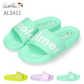 アーノルドパーマー AL5411 レディースサンダル Arnold Palmer イエロー パープル ライトグリーン S M L LL 歩きやすい 軽量 屈曲 婦人 シャワーサンダル (2002)