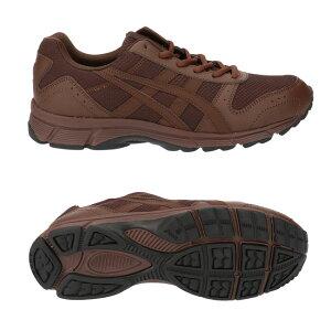[送料無料]アシックスゲルファンウォーカー214ランニングシューズメンズASICSブラックネイビーコーヒー25.0cm〜27.0cm4Eウォーキングクッション性疲れないファスナー付き紳士靴TDW214(2009)