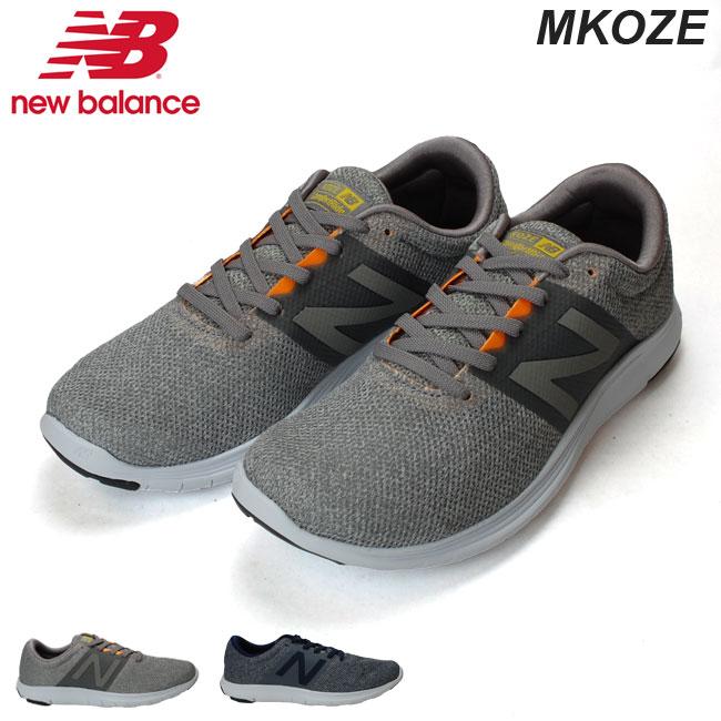 ニューバランス New Balance MKOZE D メンズ スニーカー RM1 RS1 グレー イエロー シルバー ブルー ランニングシューズ フィットネスラン ウォーキング (1808)(E)