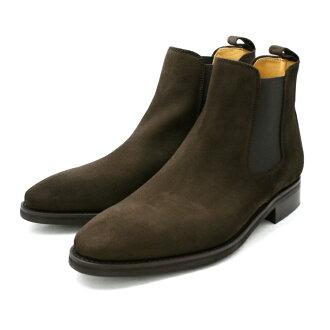 贝里克说: 戈尔靴子男子每天晚上排序贝里克 848 [暗棕色绒面革] 业务鞋男子靴子制造的西班牙品牌男装鞋皮革皮鞋棕色男式商务靴子 _ _