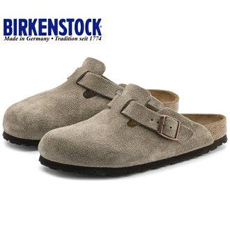 e17f0c36cf Birkenstock Boston genuine BIRKENSTOCK BOSTON suede 060461  taupe  clog  Sandals mens