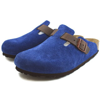 Birkenstock Boston sandal BIRKENSTOCK BOSTON 259671 (Mazarin blue/Havana) wide / normal width genuine birken-stuck for men MEN's BIRKEN STOCK Sandals 2014 Winter