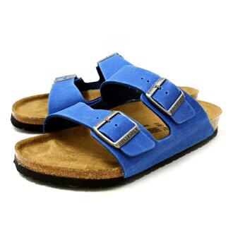 勃肯亚利桑那真正勃肯亚利桑那 652881 [钴蓝色] 专利凉鞋男装 vilken 卡 vilken 2015 SS _ _