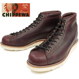 【SALE:50%OFF】 チペワ ブーツ CHIPPEWA 1901G38 5-inch Two-tone Bridgeman [Cordovan] ツートン ブリッジマン 正規品 保証書付 メンズ ワークブーツ アメリカ製 送料無料 【あす楽対応】 【コンビニ受取対応】