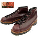 【SALE:50%OFF】 チペワ ブーツ CHIPPEWA 1901G40 5-inch lace-to-toe field boots [Cordovan] フィールドブーツ …