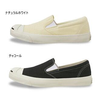 匡威杰克珀塞尔懒汉鞋CONVERSE JACK PURCELL WASHOUT SLIP-ON[天然的白·木炭]洗涤出界正规的物品人运动鞋低切鞋men's ladies sneaker 2015SS