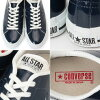 Converse one star leather CONVERSE ONE STAR J PL [Dark Navy-Japan men's sneaker low-cut genuine _ _