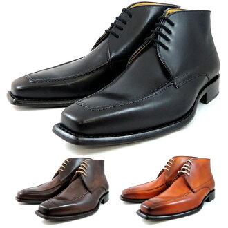 gyuriomorettimenzubutsubijinesudoresushuzu GIULIO MORETTI EB710 U小费长筒靴绅士鞋书皮革皮鞋men's business boots