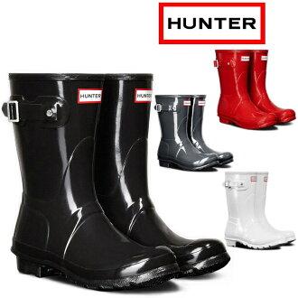 猎人雨靴妇女真正,猎人原始短光泽 HWFS1000RGL16SS 原始短光泽