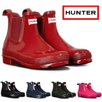 猎人正规的物品HUNTER W ORG REFINED CHELSEA GLOSS HWFS1017RGL雷恩长筒靴女士旁边戈尔长筒靴原始物再找切尔西总分2016秋天冬天新作品