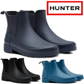 9c8589c0a8c638 HUNTER ブーツ WFS1017RMA ハンター レインブーツ ショート WOMENS REFINED SLIM FIT CHELSEA  BOOTS オリジナル リファインド