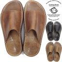 ロッキングシューズ Locking Shoes by FootMonkey フットモンキー SDL-4FT サンダル メンズ レザー レザーサンダル シ…