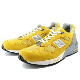 供新平衡991运动鞋━Made in UK━NEW BALANCE M991 YLW(黄色)跑步鞋人运动鞋男性使用的men's sneaker newbalance ★★