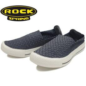 ROCK SPRING ロックスプリング 靴 BSTREET RS203 メッシュ スリッポン メンズ サンダル ウーブンシューズ ワラチサンダル 2019春夏新作 【あす楽対応】