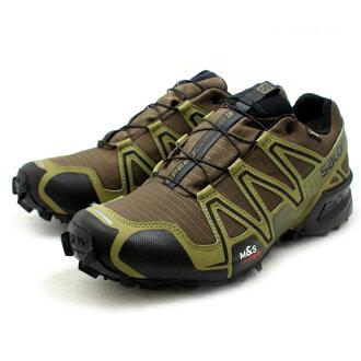 71a6579a8aeb Salomon trail running shoes SALOMON SPEEDCROSS 3 GTX 373323  DARK  KHAKI BLACK GUANA GREEN  speed cross Gore-Tex men s men s men s ☆
