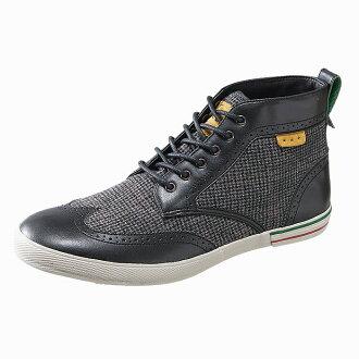 kappa sunikamenzukappavinko MID LSM496[黑色]menzusunika men's sneaker