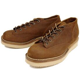 ヴァイバーグ VIBERG ブーツ ヴィバーグ ビバーグ LACE TO TOE OXFORD 〔AGED BARK〕 ヌバック レザー Vibram ビブラム ブーツ BOOTS 送料無料 【あす楽対応】【コンビニ受取対応】