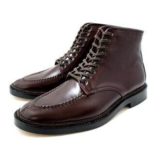 供pisutorerobutsumenzubijinesu PISTOLERO NORWEGIAN U-TIP BOOTS 504-08[酒吧甘地]男性使用的鞋men's business boots正式墨西哥制造