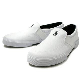 马球·拉尔夫劳伦运动鞋人懒汉鞋POLO RALPH LAUREN马球拉尔夫劳伦FAKENHAM R929[白]men's shoes sneaker 2015SS