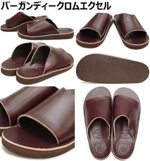 凉鞋人员THE SANDALMAN SLIDERS CHROMEXCEL铬Excel凉鞋皮革人美国制造SANDAL MADE IN USA